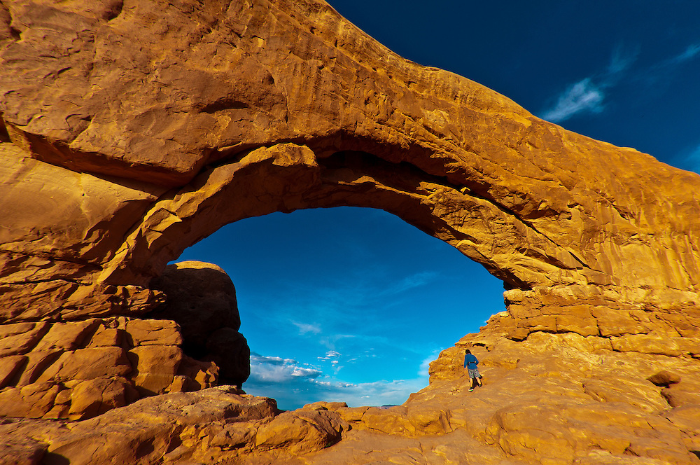 North Window, Arches National Park, near Moab, Utah USA