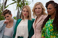 Jury members Kristen Stewart, Léa Seydoux, Jury President Cate Blanchett, Ava DuVernay, at the Jury photo call at the 71st Cannes Film Festival Tuesday 8th May 2018, Cannes, France. Photo credit: Doreen Kennedy