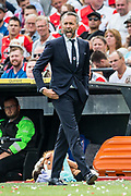 Excelsior trainer coach Adrie Poldervaart during the Dutch football Eredivisie match between Feyenoord and Excelsior at De Kuip Stadium in Rotterdam, on August 19th, 2018 - Photo Dennis Wielders / Pro Shots / ProSportsImages / DPPI