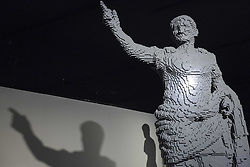 December 9, 2016 - Rome, Italy - 'Nathan Sawaya: The Art Of The Brick' exhibition preview at the Auditorium Parco della Musica in Rome, Italy. The exhibition opens to the public on December 9 and runs until February 26, 2017. Nathan Sawaya is an American-based artist who builds custom three-dimensional sculptures and large-scale mosaics from popular everyday items and is best known for his work with standard LEGO toy bricks. (Credit Image: © Giuseppe Ciccia/Pacific Press via ZUMA Wire)
