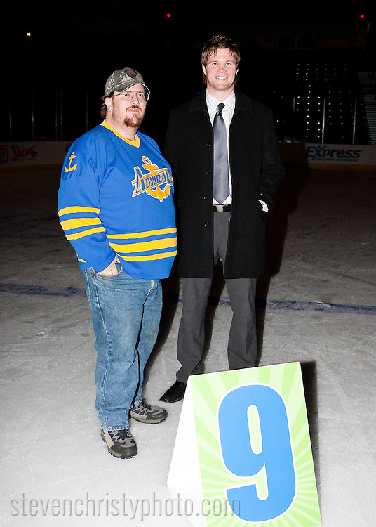 January 3, 2009: The Mississippi Riverkings of the CHL play against the Oklahoma City (OKC) Blazers at the Ford Center in Oklahoma City, OK.