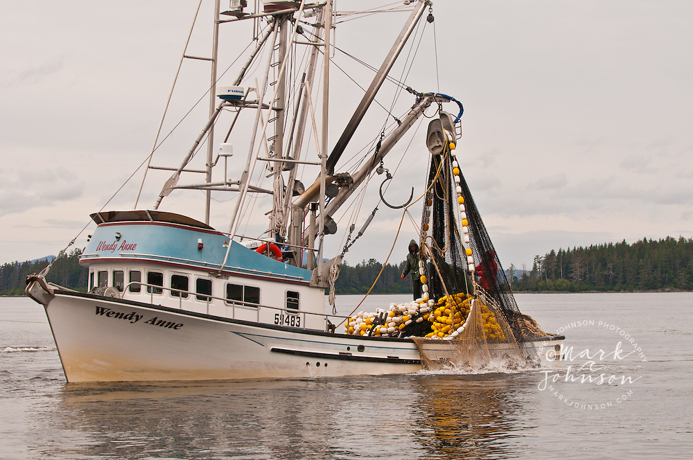 Salmon purse seine fishing sitka alaska mark a johnson for Purse seine fishing