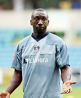 Photo: Chris Ratcliffe.<br /> <br /> Millwall v Charlton Athletic. Pre Season Friendly. 22/07/2006.<br /> <br /> Jimmy Floyd Hasselbaink of Charlton.