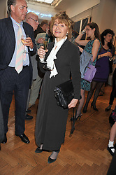 PRUNELLA SCALES at a reception to unveil the Limited Centenary Edition of Sir George Frampton's statuette of Peter Pan in aid of the Moat Brae Charity held at The Fine Art Society, 148 New Bond Street, London on 1st May 2012.