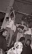 Ravers, 'Hot' club night, Hacienda club, Manchester, circa 1989