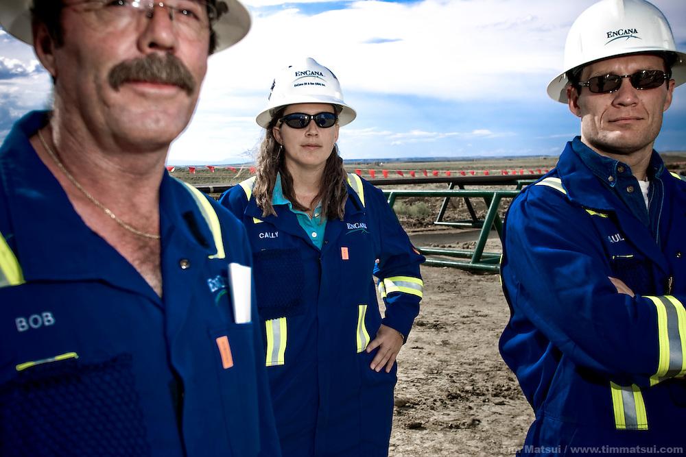 Encana personnel, Jonah Field, Sublette County, Wyoming