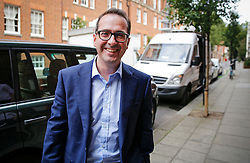 © Licensed to London News Pictures. 26/07/2016. London, UK. Labour leadership candidate OWEN SMITH arrives to hold a Labour leadership rally at Emmanuel Centre in London on 26 July 2016. Photo credit: Tolga Akmen/LNP