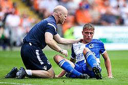 Tom Davies of Bristol Rovers receives treatment for an injury - Mandatory by-line: Robbie Stephenson/JMP - 03/08/2019 - FOOTBALL - Bloomfield Road - Blackpool, England - Blackpool v Bristol Rovers - Sky Bet League One
