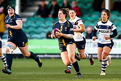 Meg Varley of Worcester Warriors Women - Mandatory by-line: Robbie Stephenson/JMP - 01/12/2019 - RUGBY - Sixways Stadium - Worcester, England - Worcester Warriors Women v Bristol Bears Women - Tyrrells Premier 15s
