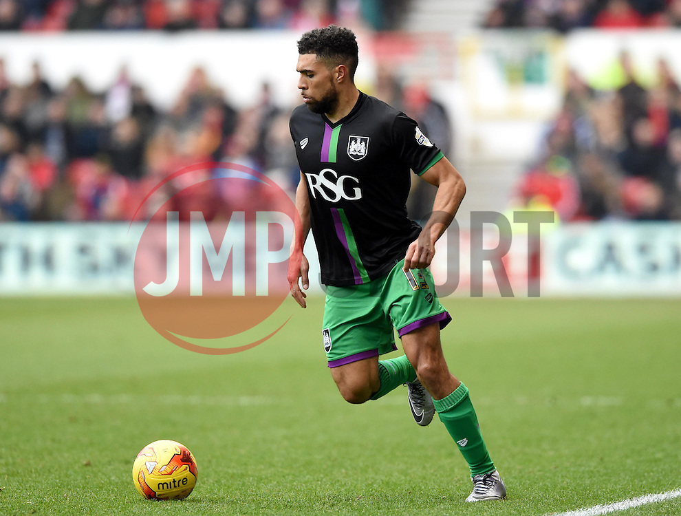 Scott Golbourne of Bristol City  - Mandatory byline: Joe Meredith/JMP - 27/02/2016 - FOOTBALL - The City Ground - Nottingham, England - Nottingham Forest v Bristol City - Sky Bet Championship