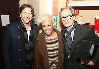 Bill Nighy, Bradley Cooper and Emeli Sandé at the Nordoff-Robbins Carol Service 2012, St Luke's Church, Chelsea, London. Tuesday, Dec 18, 2012 (Photo/John Marshall JME)