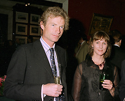 The HON.ERSKINE & MRS GUINNESS at a reception in London on 22nd May 1997.LYM 39 2OLO