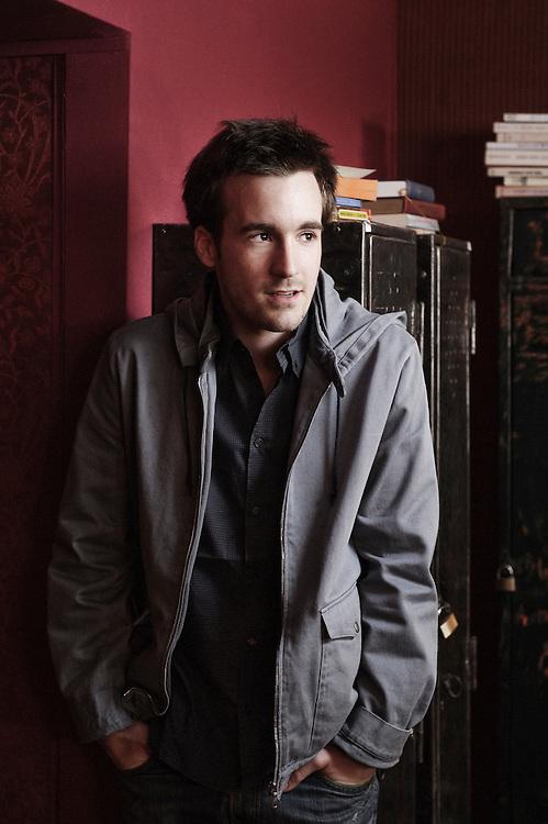 L'Autre Monde's actor Grégoire Leprince-Ringuet at the 63rd Cannes Film Festival. France. 15 May 2010. Photo: Antoine Doyen