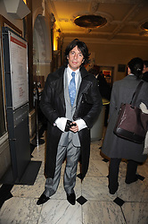 LAURENCE LLEWELLYN-BOWEN at the opening of the Royal Academy of Arts Byzantium 330-1453 exhibition held at the RA, Burlington House, Piccadilly, London on 21st October 2008.