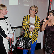 NLD/Amsterdam/20120202 - Lancering vernieuwde Talkies, Monique des Bouvrie, Anouk Smulders - Voorveld en Victoria Koblenko