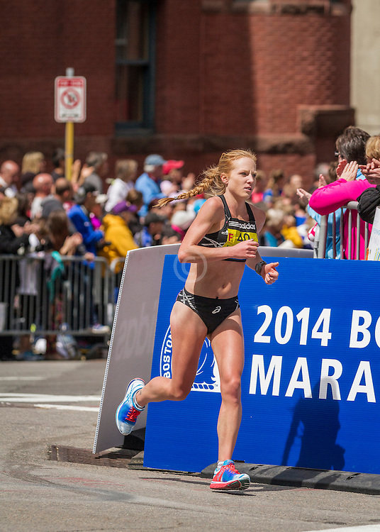 2014 Boston Marathon: Bria Wetsch