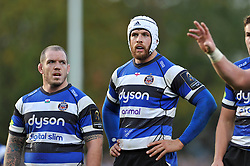 Dave Attwood of Bath Rugby - Photo mandatory by-line: Patrick Khachfe/JMP - Mobile: 07966 386802 25/10/2014 - SPORT - RUGBY UNION - Bath - The Recreation Ground - Bath Rugby v Toulouse - European Rugby Champions Cup