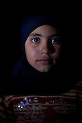 Jordan: Safa, 10 years old..Syrian refugee children at Za'atri refugee camp in Jordan. Two thirds of all refugees fleeing Syria to Jordan are women and children, incredibly traumatised by the violence they have witnessed in Syria...©JTanner/UNHCR/Dec 2012