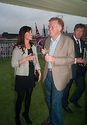 ZOE COPSEY; ANDREW STIRLING, Charlie Gilkes and Archie Stirling host Inception Group's Hamptons Garden party on the rooftop garden of the Ballymore marketing suite overlooking the site of the new US embassy. Embassy Gardens, London SW8.  12 July 2012.