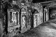 Wall of Plaques, Churchyard Edinburgh, Scotland