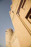 UAE, Dubai, architectural detail of Al Jahli Fort