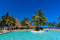Swimming pool, Le Meridien Nouméa Beach Resort Hotel, Noumea, Grand Terre, New Caledonia