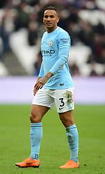 Danilo of Manchester City - Mandatory by-line: Alex James/JMP - 29/04/2018 - FOOTBALL - London Stadium - London, England - West Ham United v Manchester City - Premier League
