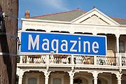 Magazine Street road sign