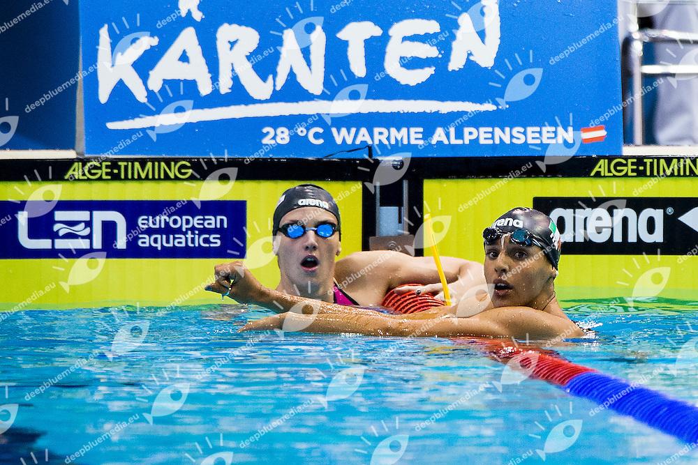 Giada Galizi Italy ITA<br /> 100 Freestyle Women Heat<br /> 32nd LEN European Championships <br /> Berlin, Germany 2014  Aug.13 th - Aug. 24 th<br /> Day07 - Aug. 19<br /> Photo A.Masini/Deepbluemedia/Inside