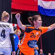 NLD/Den Bosch/20160604 - EK Kwalificatiewedstrijd handbal Nederland - Oostenrijk, nr.24 Martine Smeets