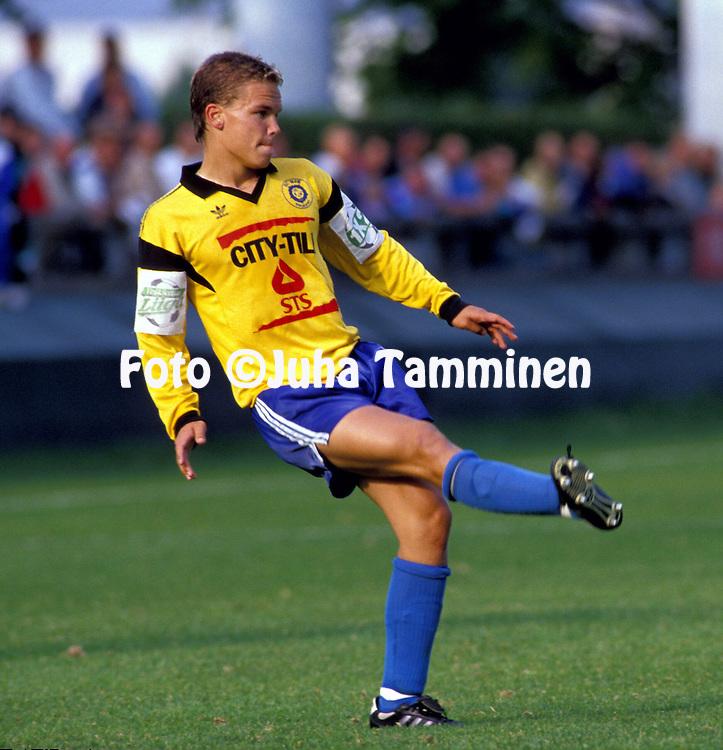 13.08.1992.Antti Heinola - HJK Helsinki.©JUHA TAMMINEN