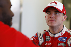 September 14, 2018 - Las Vegas, Nevada, United States of America - Ryan Reed (16) hangs out in the garage during practice for the DC Solar 300 at Las Vegas Motor Speedway in Las Vegas, Nevada. (Credit Image: © Chris Owens Asp Inc/ASP via ZUMA Wire)