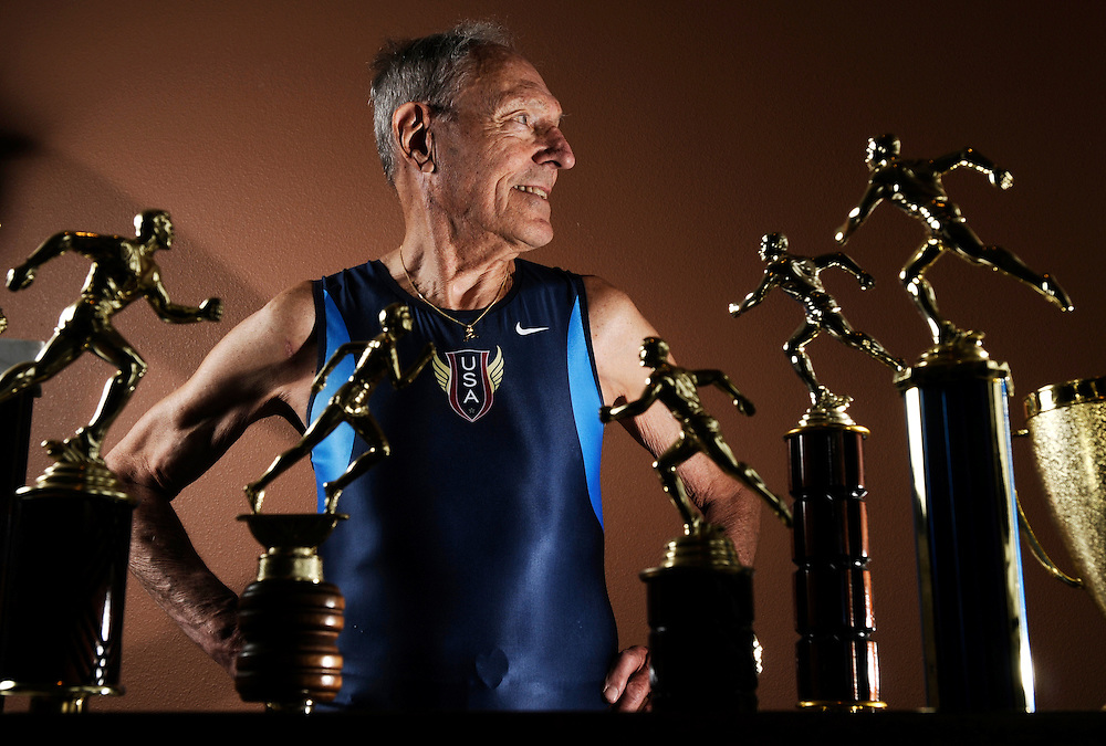 "John Keston, 85, says he'll keep setting records: ""I don't feel any less fit than I did 30 to 40 years ago."" Keston has been ranked among the world's top age-group runners since he was 65, and in 2001 was inducted into the USA Track and Field Masters Hall of Fame."