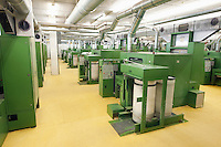 Spinning factory machinery