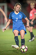 Sandie Toletti (France) during the International Friendly match between England Women and France Women at the Keepmoat Stadium, Doncaster, England on 21 October 2016. Photo by Mark P Doherty.
