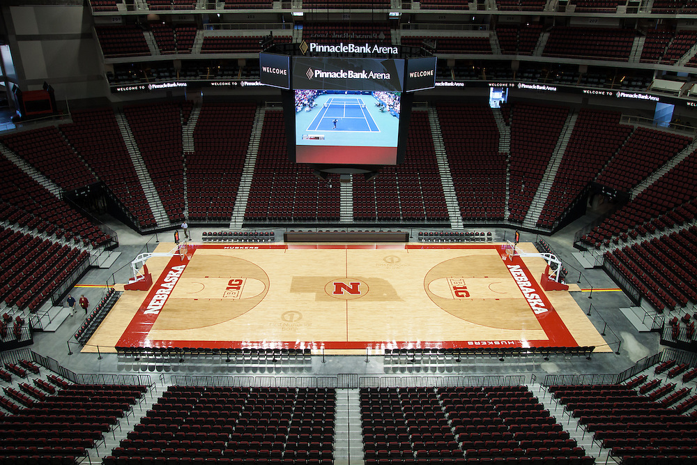 August 29, 2013: Pinnacle Bank Arena in Lincoln, Nebraska.