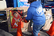"Atmosphere at Shred Your Ex and Shred Chris Brown CDs and Posters for Pre-Valentines Day Bash held at WBLI Studios in West Babylon, Long Island on February 13, 2009..""Shred Your Ex"" party the day before Valentines Day. Radio Station WBLI has invited members of Rihanna's Fan Club and other fans across the nation to join the pop star's side along with .others who are ""unlucky in love.""."