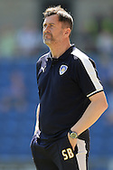 Colchester United Caretaker Manager Steve Ball during the Sky Bet League 1 match between Colchester United and Rochdale at the Weston Homes Community Stadium, Colchester<br /> Picture by Richard Blaxall/Focus Images Ltd +44 7853 364624<br /> 08/05/2016