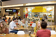 Lakeside Food Court, Couple at Rhythm Kitchen, Thai Express, Wide Shot 4