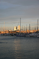 Harbour area in Barcelona<br />