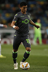December 13, 2018 - Lisbon, Portugal - Fredy Montero of Sporting in action  during UEFA Europa League football match between Sporting CP vs Vorskla, in Lisbon, on December 13, 2018. (Credit Image: © Carlos Palma/NurPhoto via ZUMA Press)