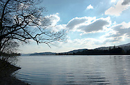 Coniston Water in Lake District National Park, Cumbria, UK