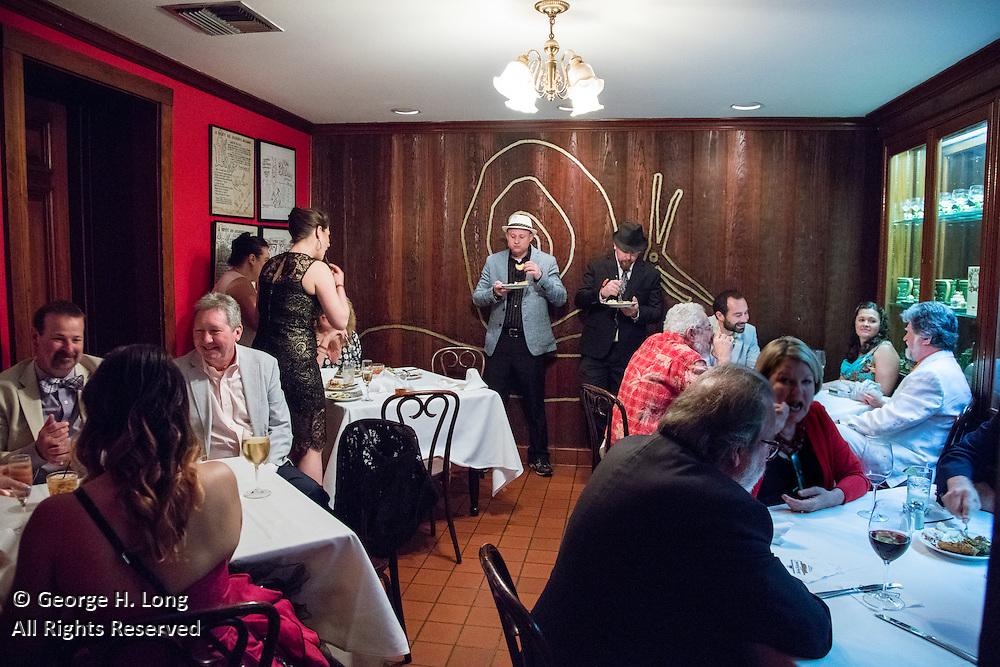 French Quarter Festival Gala at Antoine's Restaurant on April 7, 2016