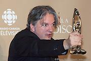 Daniel Belanger, gagnants d'un des 11 trophées Félix remis le 7 novembre 2010, lors de la 32e édition du Gala de l'ADISQ -  Theatre Saint-Denis / Montreal / Canada / 2010-11-07, © Photo Marc Gibert/ adecom.ca