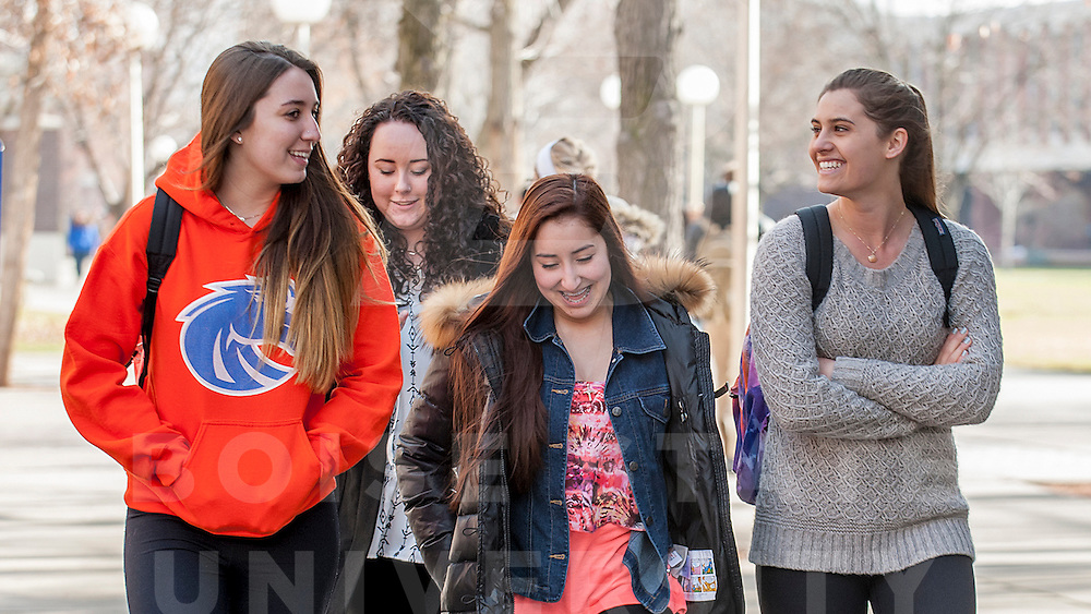 Back to School, Spring semester, students, campus life, Carrie Quinney photo
