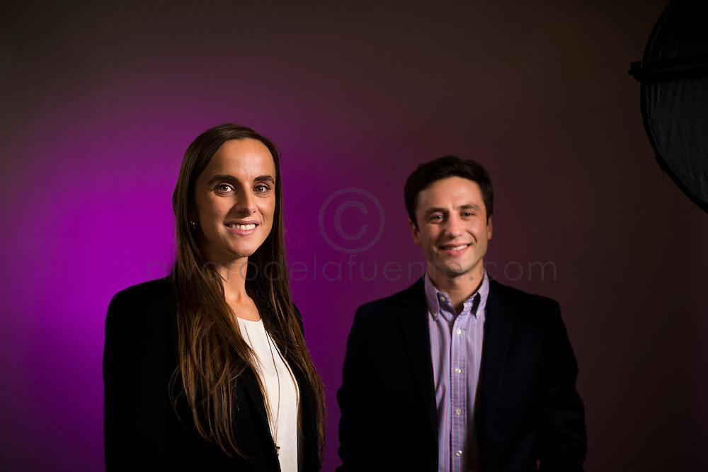 Anne Marie Lemp y Klaus Marowski. Asociación Chilena de Seguridad ACHS. Santiago de Chile, {date} (©Alvaro de la Fuente/Triple.cl)