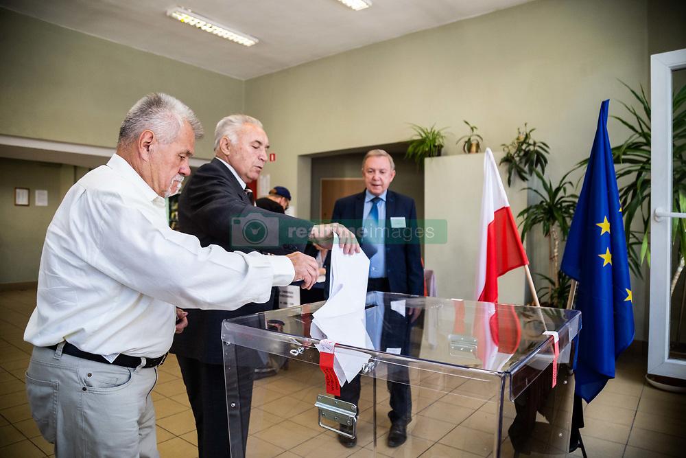 May 26, 2019 - Wroclaw, Poland - Wroclaw, Poland May 26 2019, Elections to the European Parliament, voting in Wroclaw, Poland. (Credit Image: © Krzysztof Kaniewski/ZUMA Wire)