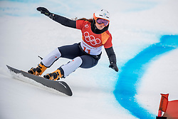 PYEONGCHANG-GUN, SOUTH KOREA - FEBRUARY 24: Gloria Kotnik of Slovenia competes during the Ladies' Parallel Giant Slalom Qualification Run on day fifteen of the PyeongChang 2018 Winter Olympic Games at Phoenix Snow Park on February 24, 2018 in Pyeongchang-gun, South Korea. Photo by Ronald Hoogendoorn / Sportida