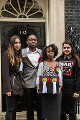 16 Mar. 2015  War Child hand in petition to Downing Street