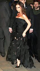 © Licensed to London News Pictures. 12/03/2015, UK. David Beckham, Victoria Beckham, Alexander McQueen: Savage Beauty Fashion Gala, Victoria & Albert Museum, London UK, 12 March 2015. Photo credit : Richard Goldschmidt/Piqtured/LNP